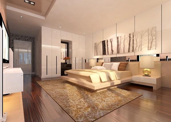 Thảm trải sàn cho phong cách hiện đại