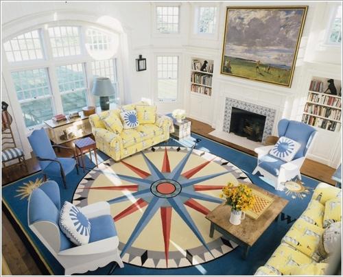 Chọn thảm tấm hoa văn trang trí nội thất